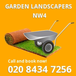 Hendon front garden landscape NW4