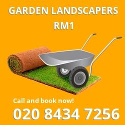 Romford front garden landscape RM1