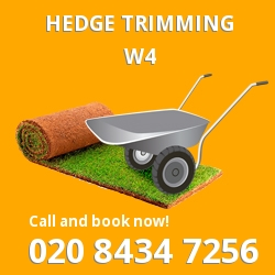 W4 garden trees services in Gunnersbury