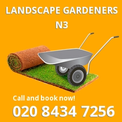contemporary gardening ideas Finchley