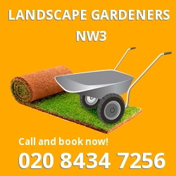 contemporary gardening ideas Belsize Park