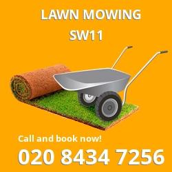 Clapham lawn cutting service
