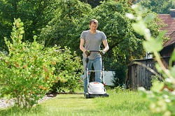 mowing lawns in Baldock