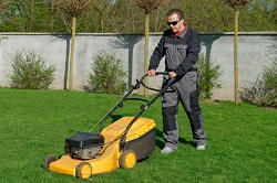 mowing lawns in Muswell Hill