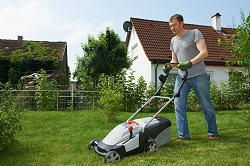 mowing lawns in Chelsea